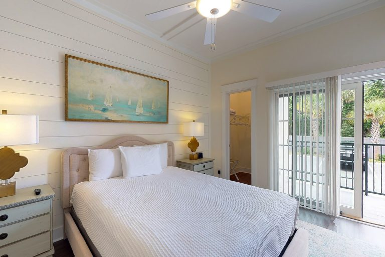 Master Bedroom from the foot of the bed
